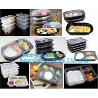 Plastic Food Storage Boxes with Handles Food Crisper Food Storage Bins Organizer Refrigerator Storage Container bagease