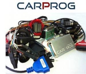 China Carprog plein V4.01 avec le programmeur automatique de 21 ECU d'adaptateurs pour des autoradios, tableaux de bord, réparation d'immobilisateurs on sale
