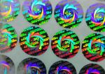 Laser Silver 3D Hologram Custom Sticker Labels Design Printing FSC Certificated