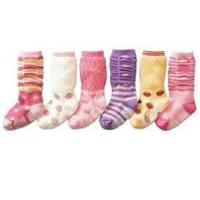 Lovely soft sole permeable moisture wicking comfy Non Slip Baby Socks for baby girl