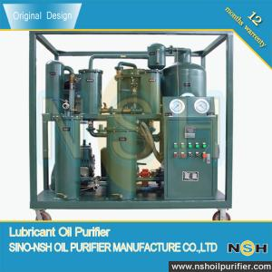 China Industrial Application Lube oil purifier, filtrate lube oil, 600~18000LPH,remove water and impurities,mobile type on sale