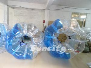 Quality Biens transparents de PVC de bulle du football gonflable du football pour l for sale