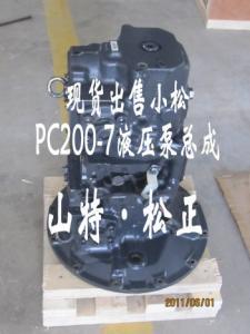 708-3T-04620 ,PC78us-6 gear pump  komatsu genuine hydraulic
