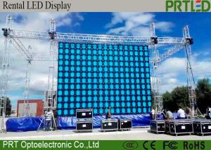 China SMD3535 P10 Outdoor Rental LED Display IP65 Waterproof Outdoor Screen Hire on sale
