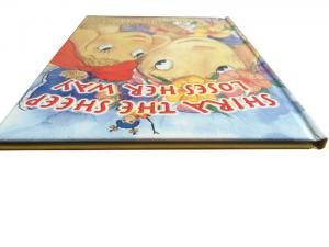 China Colorful Hardcover Kid Fancy Cartoon Comic Book Printing With Anti-tearing Material on sale