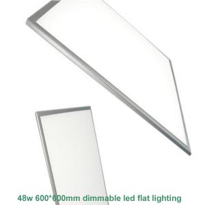 China 3500K-5000K Square Dimmable LED Panel Light , 48 Watt 24 X 24 Inch LED Panel Lamp on sale