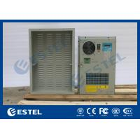 DC48V 300W Outdoor Cabinet Air Conditioner Variable Frequency Grey Color Low Noise