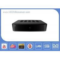 S805 Quad Core DVB Combo Receiver DVB - S2 + T2 / C / ATSC / ISDB - T Hybrid