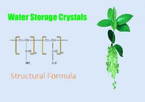 China Water Retaining Agent and Water Retaining Crystals on sale