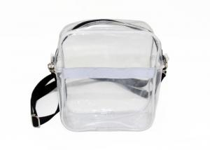 China Fashion Clear Plastic single strap shoulder bag Detachable Strap Crossbody Shoulder Bag on sale