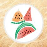 Non Stick Cotton Beach Towel , Novelty Beach Towel  Personalized Printed Microfiber