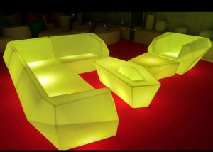 China Multicolor Changing Led Light Up Furniture , Led Lighted Sofas Remote Control on sale