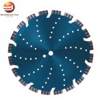 ISO9001 230mm 450mm Laser Welded Diamond Brick Cutting Saw Blade