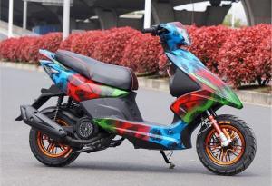 China 125cc Single Cylinder 4 Stroke Adult Motor Scooter With CVT Transmission on sale