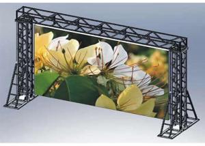 China 6500cd brightness 28235dot/sqm density outdoor full color p5.95 led display on sale