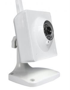 China HD Wifi Cam Wireless Mini 720P Camera MJPEG , Low Lux , White on sale