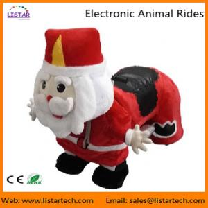 China Santa Claus Electronic Walking Animal Rides Games Machine for Christmas Amusement Park on sale