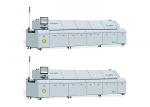 China KTR-800D Board Alarm SMT Reflow Oven PLC And PLD Closed - Loop Control on sale