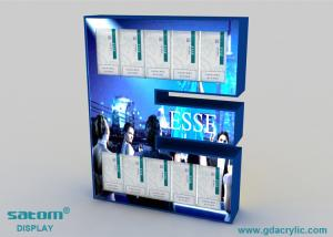 China Plexiglass / Acrylic Cigarette Display Cabinet With LED Light , Provide Free Design on sale