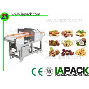 China Le détecteur de métaux de traitement des denrées alimentaires des produits alimentaires usine l'alarme automatique avec la bande de conveyeur on sale