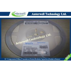 China condensadores electrolíticos 0402X104K100CT SMD0402 de la gota de ferrita de 100NF X5R SMD on sale