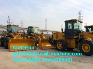 China ZL50GN Grasping Grass Heavy Construction Machinery , 4500kg Xcmg Wheel Loader With 3m3 Bucket on sale