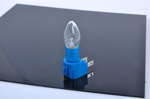 China 0.5 Watt Blue Base Basic Night Light , Rugged Construction Indoor Night Lights on sale