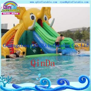 China Inflatable Slide for Pool Ginat Inflatable Elephant Slide Water Slides for Sale on sale
