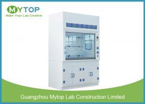 China Hospital Laboratory Fume Hood 4 Feet , Laboratory Fume Cupboard Acid Resistant on sale