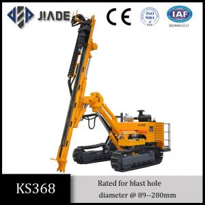 China Ks368 Hydraulic DTH Large Blast Hole Drill Rigs on sale