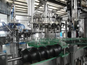 China PLC Control Electric Beer Filling Machine for Barrel and Bottle 12000BPH on sale