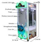 Stable Performance Toy Crane Vending Machine / Doll Catching Machine