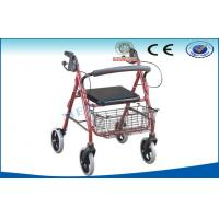 Mobile Lightweight Folding Wheelchairs For Travelling , Walking Aids