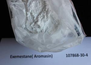 China Bulking Cycle Steroids Aromasin Exemestane CAS 107868-30-4 Hormone Powder on sale