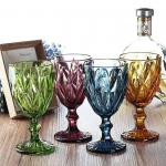 Wine Cup Dinner Sets Solid Glass Products Drinking For Juice Amber Purple