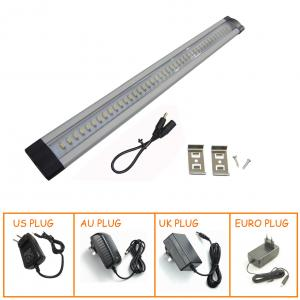 China RF remote controller DC12V dimmable under cabinet led light with retail packaging on sale