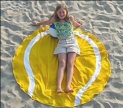 China Children or Adults Summer Round Circle Beach Towel 100% cotton Reactive Printing on sale