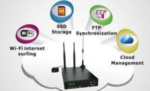 China Router industrial de WiFi do ÔNIBUS do veículo 3G/4G da categoria do SC VWR-H93, serviço centralizado da aplicação on sale