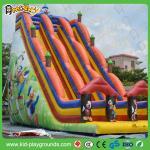2016 diapositiva inflable gigante barata comercial del payaso de la Top-venta para los niños, diapositiva de salto inflable, tobogán acuático inflable