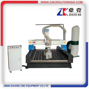 China ZKM-1325B 4*8 feet mesa sink Wood Engraving Machine with stainless steel water slot on sale