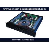 Pub , Church , School Conference Sound Equipment Class AB 4 X 450W Analogue Amplifier