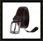 Stigmatisez la ceinture «Fuliter» boucle noire véritable de Pin de casaul des ceintures en cuir de 243 hommes de vache