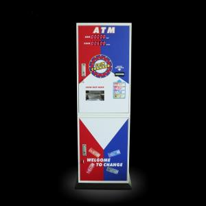 China Game Center Tokens Currency Exchange ATM Coin Change Machine Speed 1200pcs / Min on sale