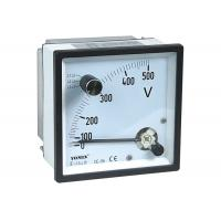 China Combined Maximum Demand Voltmeter​ , Analogue Panel Meters / 3 Phase 3 Wire Voltag Meter on sale