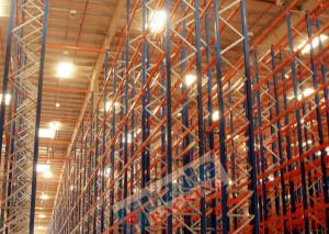 China Selective Heavy Duty Pallet Racks Q195 Steel Storage Shelving Maintenance Free on sale