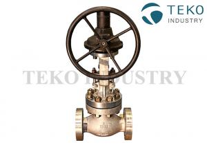 China Flange Connection Bolted Bonnet Metal Seated Worm Gear Operated SS Globe Vale Class 150 on sale