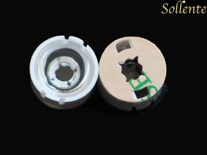 China 1 watt PMMA Cree XTE Single Led lens Easy Assembly With 3M Glue Tape on sale