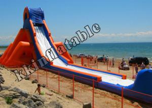China 53mL Favorable Large Inflatable Water Slide 50 person for Adults on sale