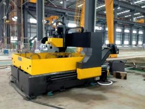 China Gantry Moveable Small Cnc Drilling Machine For Metal Plates PZ2016 Hole Diameter 50mm on sale