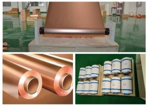 China 30 Micron Thickness Copper Shielding Foil 99.95% Purity Good Etch Ability on sale